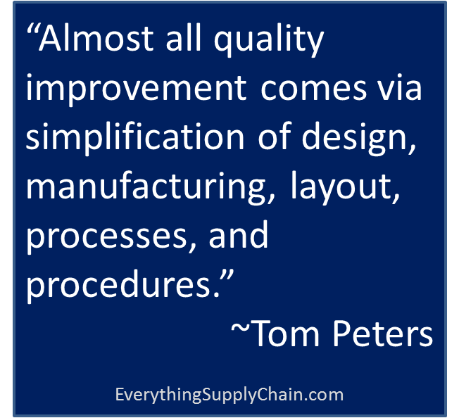 Supply Chain quotes & the importance of supply chain in the