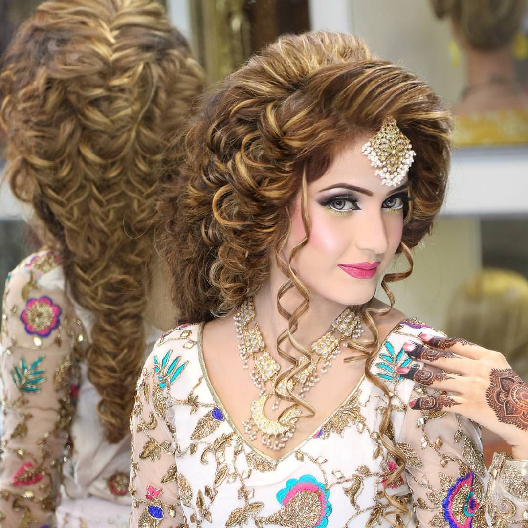 37 Pretty Wedding Hairstyles For Brides With Long Hair: See This Instagram Photo By @kashees.offical • 1,327 Likes