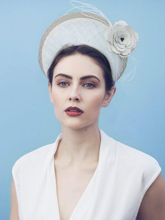 Handmade Fascinator Headband Hot Pink Sequins Flower Hairband Grace Of New York