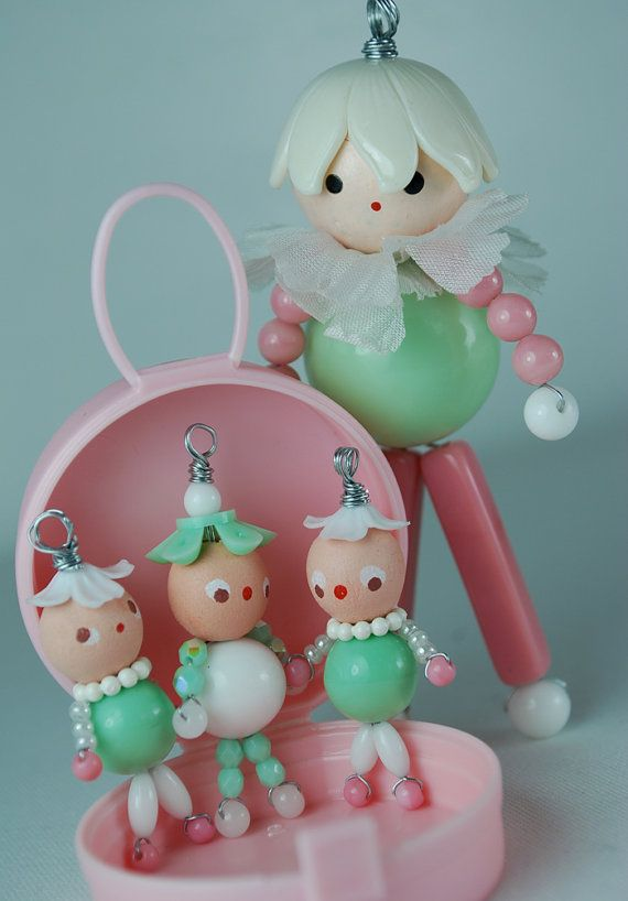 little handmade doll pixie vintage beads wire by variation | People ...