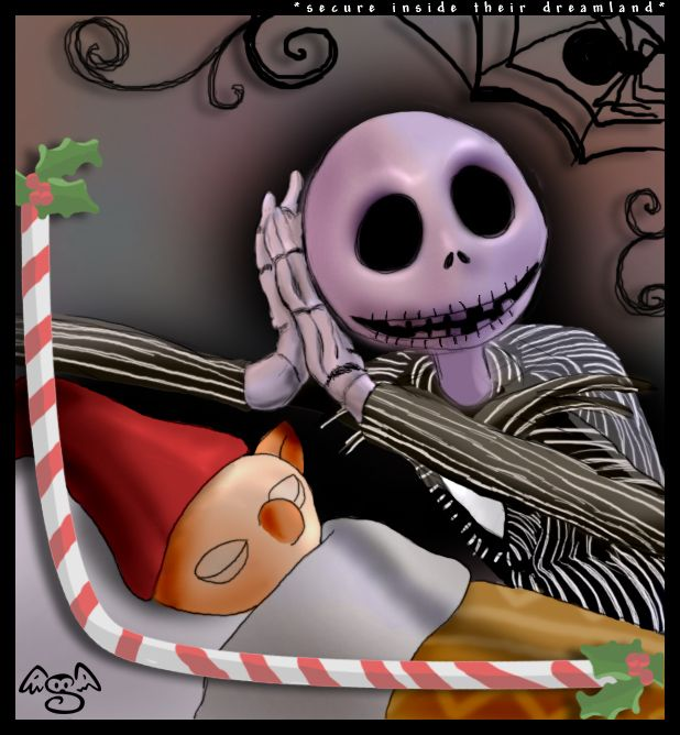 Jack at Christmas Town by hyky.deviantart.com on @DeviantArt