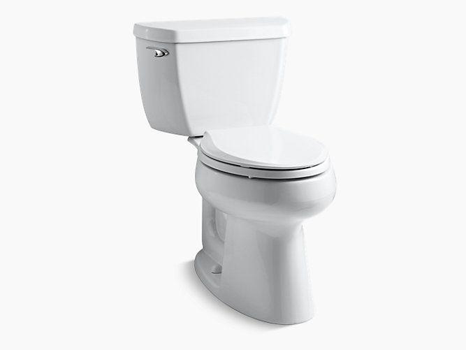 Kohler K 3658 Highline Classic Comfort Height Elongated 1 28 Gpf Toilet Kohler Water Sense Kohler Toilet