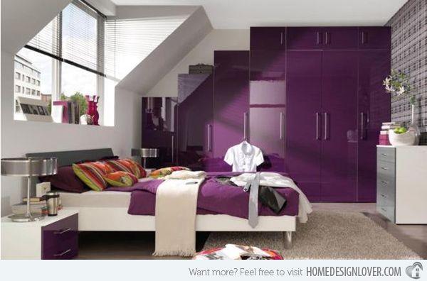 15 Vibrant Purple Bedroom Ideas Purple Bedrooms Purple Bedroom