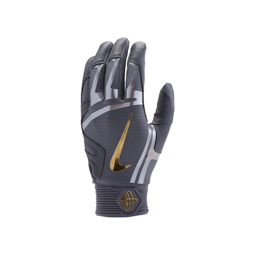 Nike Huarache Elite Baseball Batting Gloves Size Medium (Black)