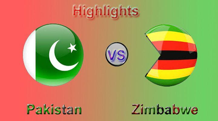 Pak vs Zim Full Match Highlights   Enjoy Sports   Full match