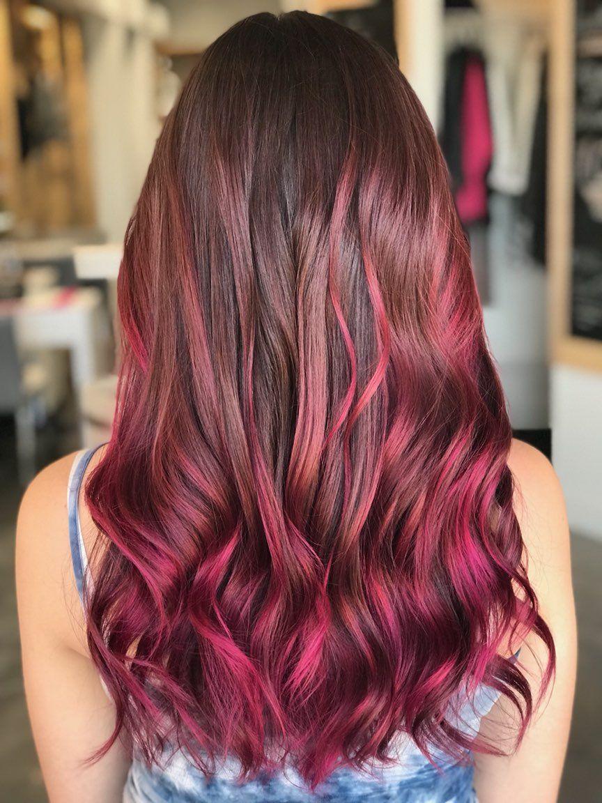 22+ Magenta hair dye on black hair inspirations