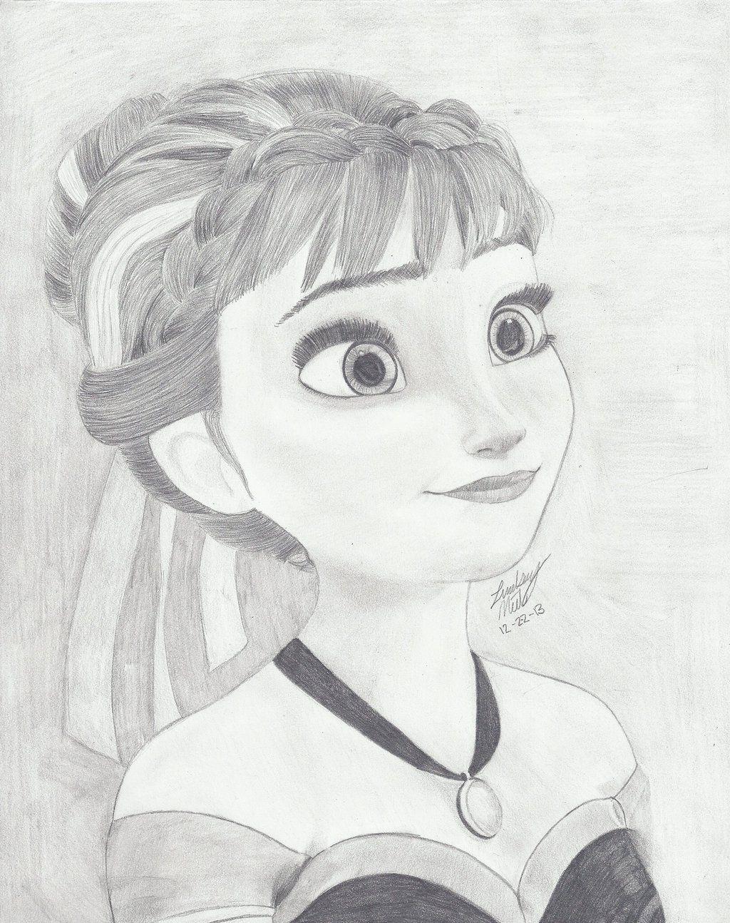 Anna From Frozen By Mymonsterstuff Deviantart Com On Deviantart