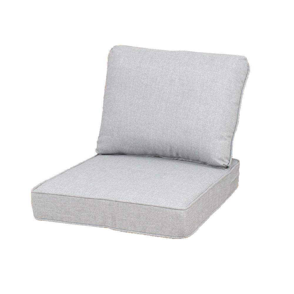 Fabulous Hampton Bay 23 25 X 27 Outdoor Lounge Chair Cushion In Short Links Chair Design For Home Short Linksinfo
