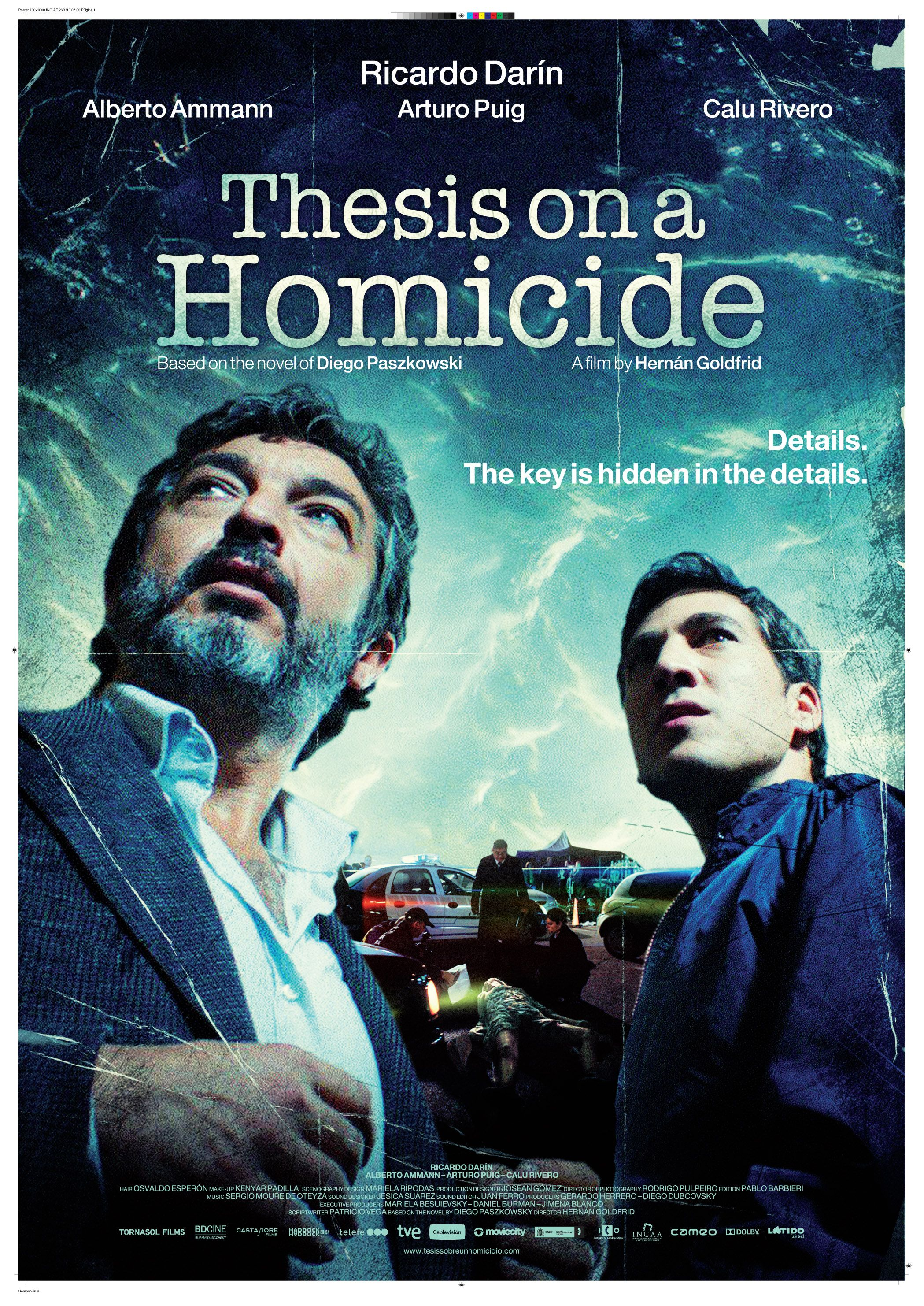 pelicula thesis on a homicide