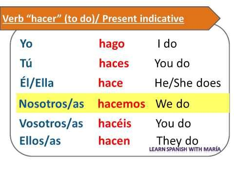 To go up conjugation spanish youtube