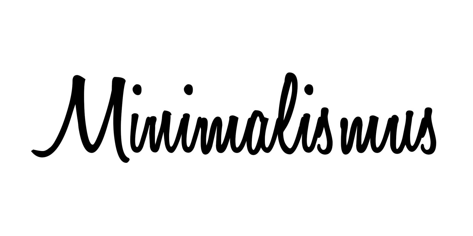 Minimalismus Leben Und Entr Mpeln Minimalismus