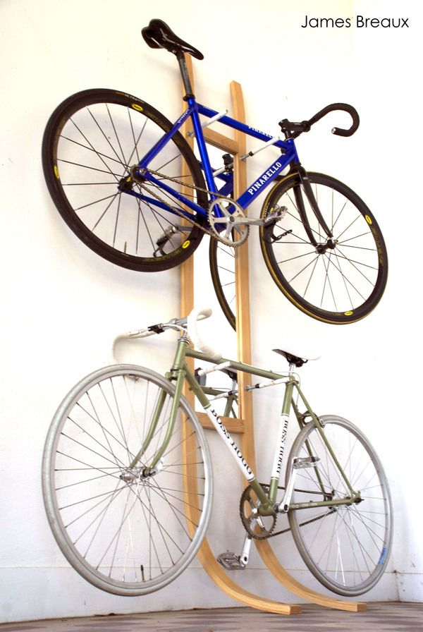Bicycle Rack By James Breaux Via Behance Bicycle Rack Indoor