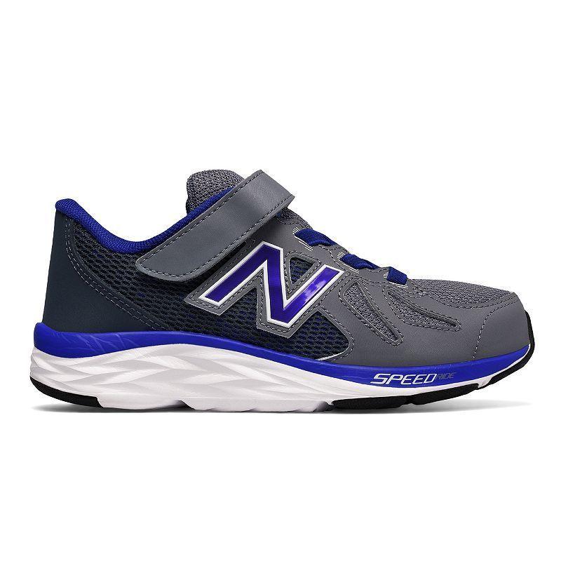 New Balance 790 v6 Preschool Boys' Running Shoes, Boy's, Size: medium (3), Silver