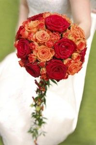 A warm and wonderful look for a summer or fall bridal bouquet. Ray Hunter Florist has been creating beautiful wedding flowers and bouquets for brides since 1919. Let our professional wedding floral designers make your wedding dreams come true. Visit our new site at www.rayhunterweddingflowers.com or call the main store in Southgate, Michigan at 734-285-2400.