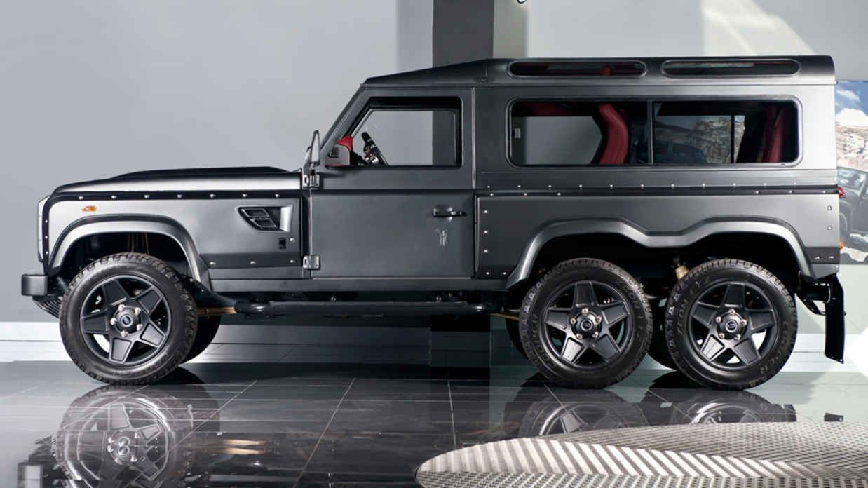 This 6x6 Land Rover Defender Eats Your Average Suv For Breakfast Land Rover Land Rover Defender Defender