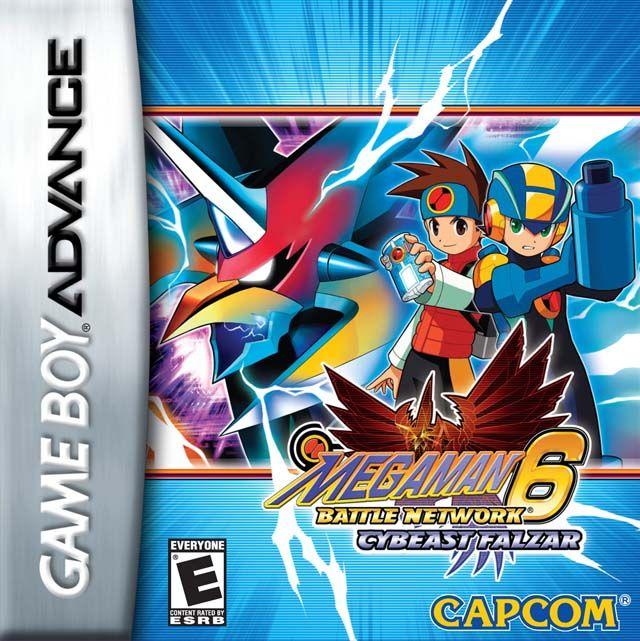 Megaman Battle Network 6 Cybeast Falzar Mega Man Gameboy Game Boy Advance