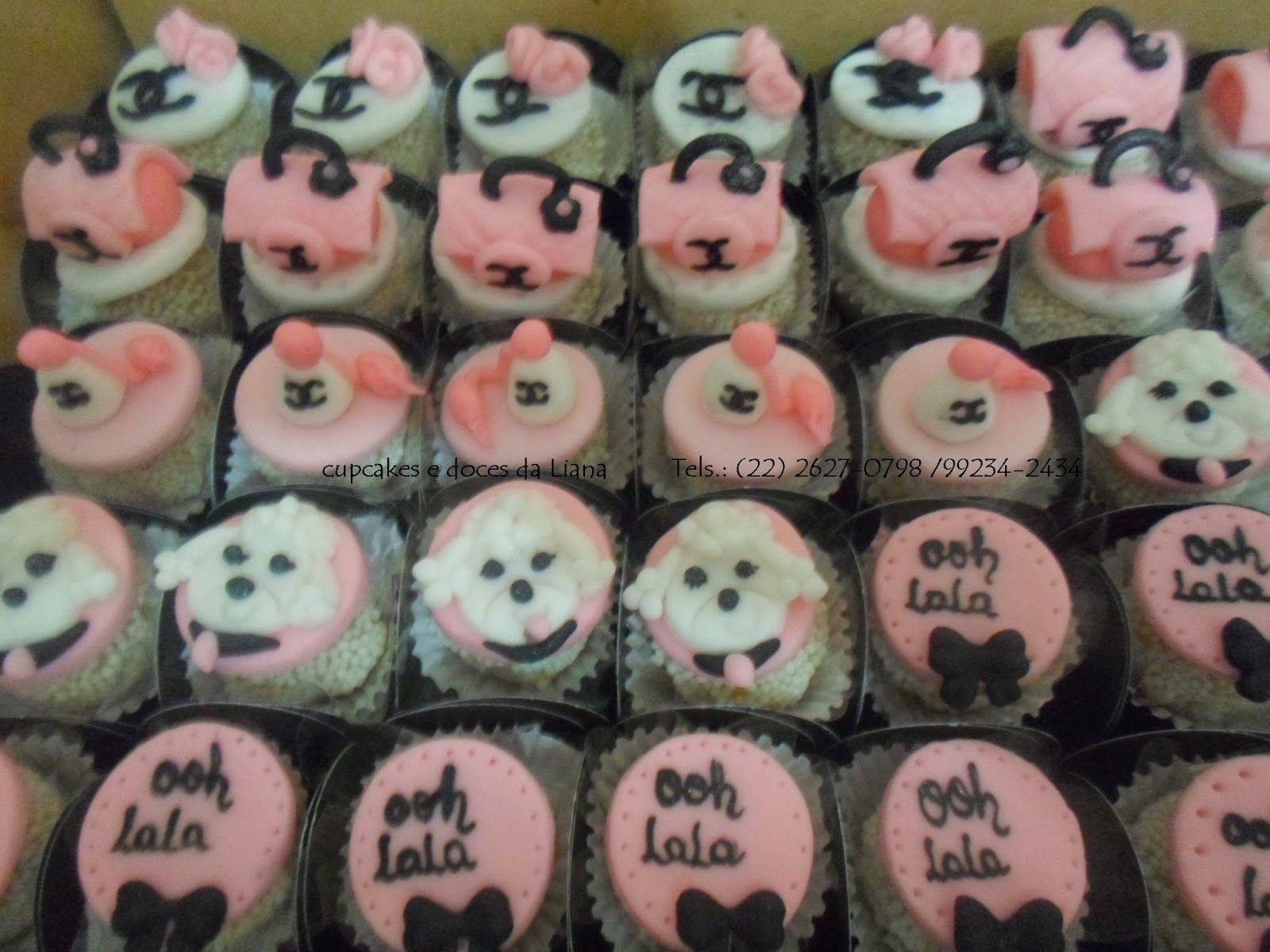 Cupcakes e Doces da Liana: docinho personalizado Paris