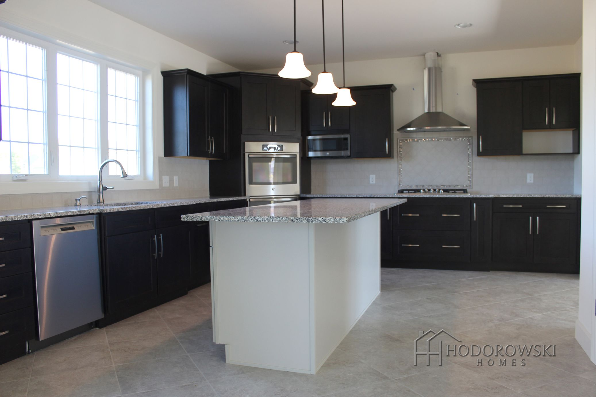 Cabinets With Sand Dollar Island And This Gorgeous Modern Kitchen In The Augusta Model Features Java