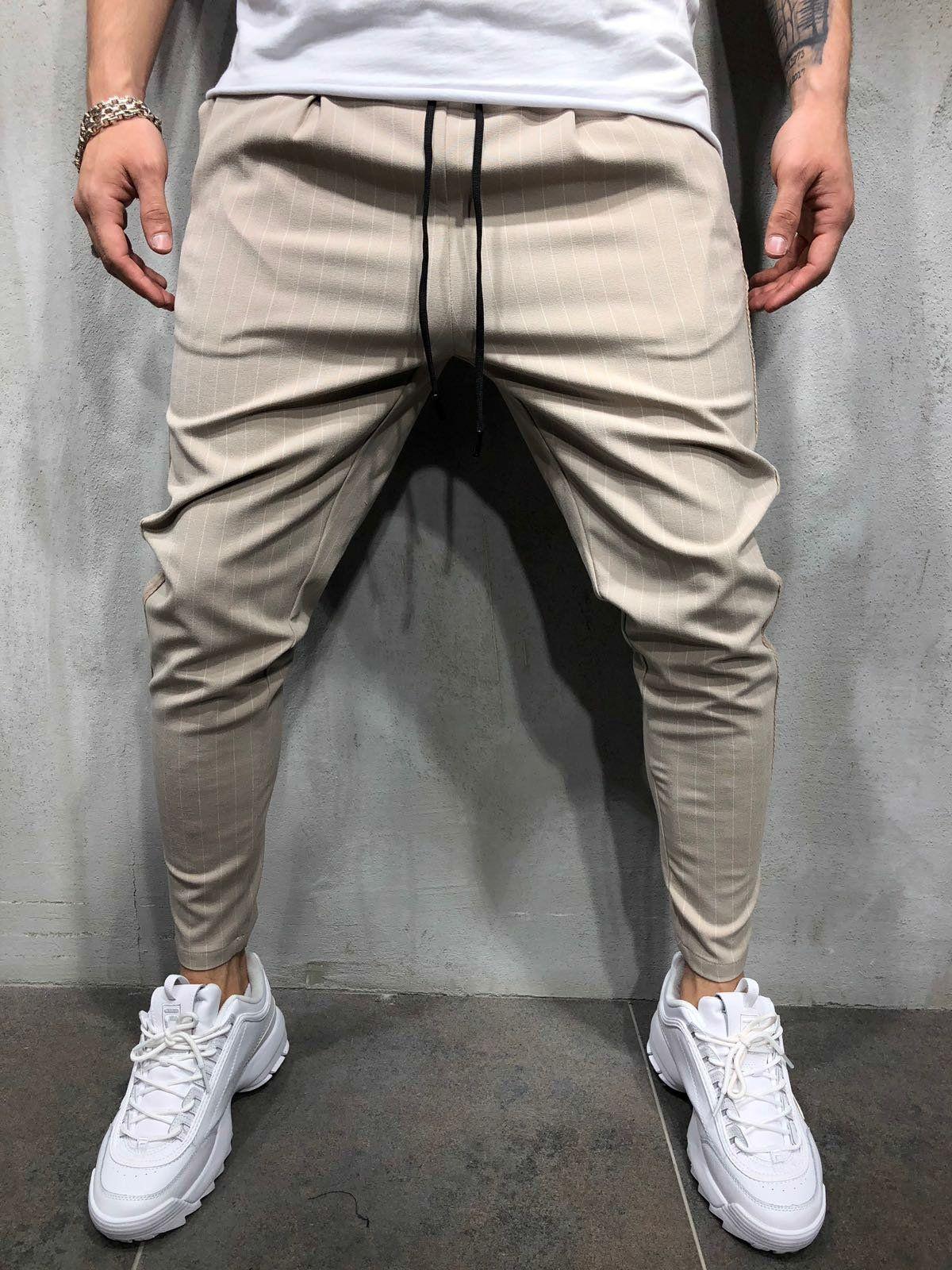 Pantalon Beige Streetwear Raye 3809 Mens Outfits Mens Streetwear Best Mens Leather Jackets