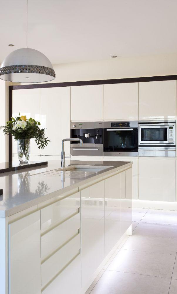 60 New Trend Kitchen Decoration And Design Ideas For 2020 Part 35 White Modern Kitchen Sleek Kitchen White Kitchen Design