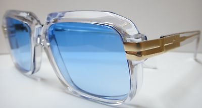 25ee0c2a056 Cazal 607 sunglasses vintage crystal blue new authentic in 2019 ...