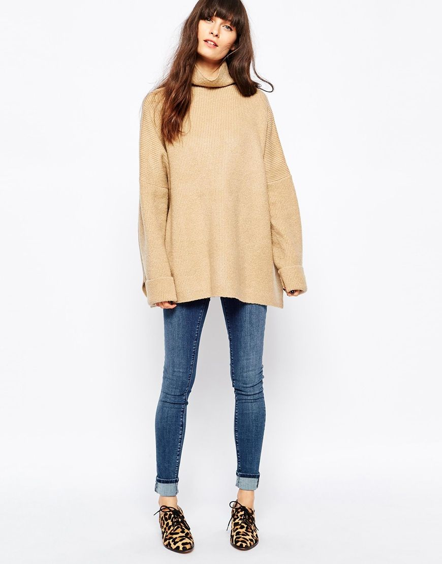 Paisie Slouchy Turtleneck Sweater | Winter, Fall fashion and ...