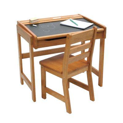 Lipper International Art Desk Amp Chair Allmodern E S