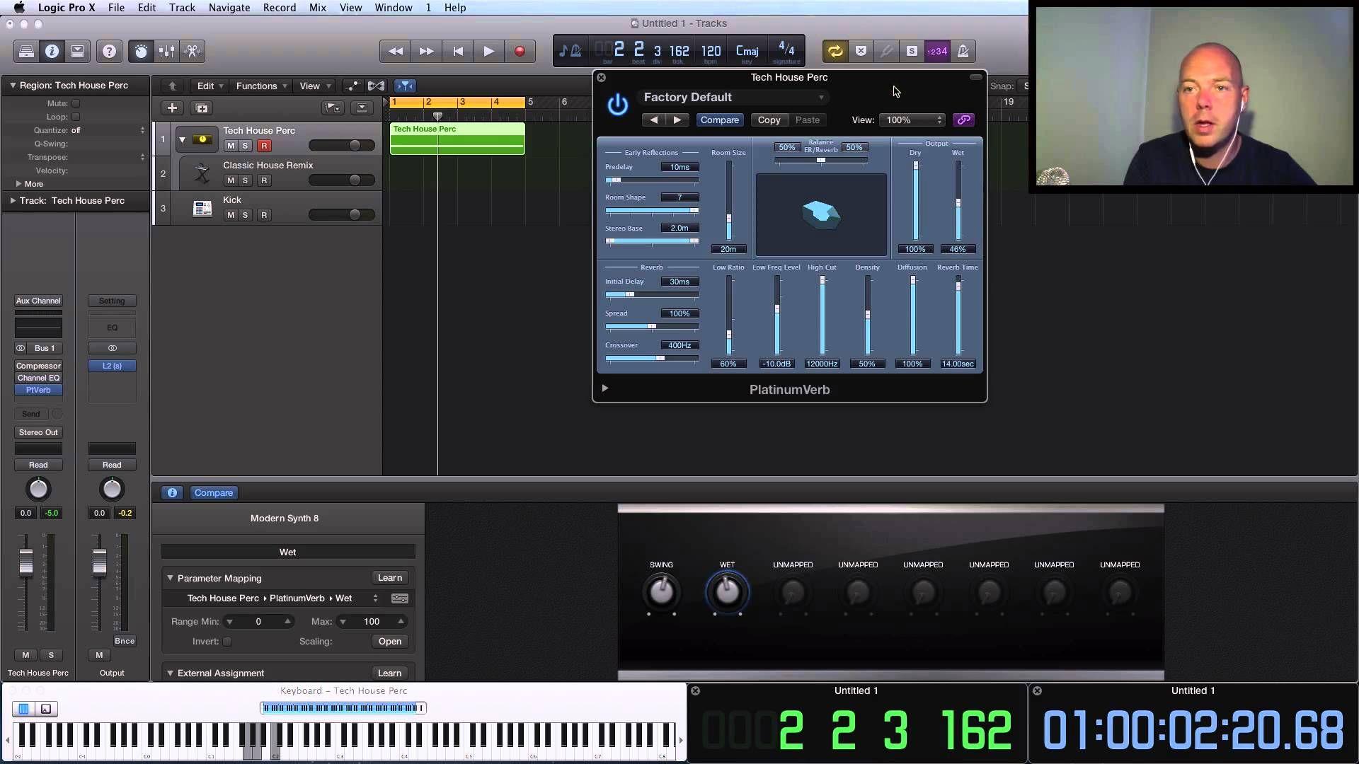 Logic Pro X Tutorial Track Stacks Amazing Tech House