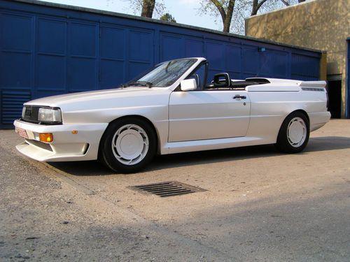 Tuner Tuesday 1986 Audi Quattro Treser Roadster Audihuntvalley