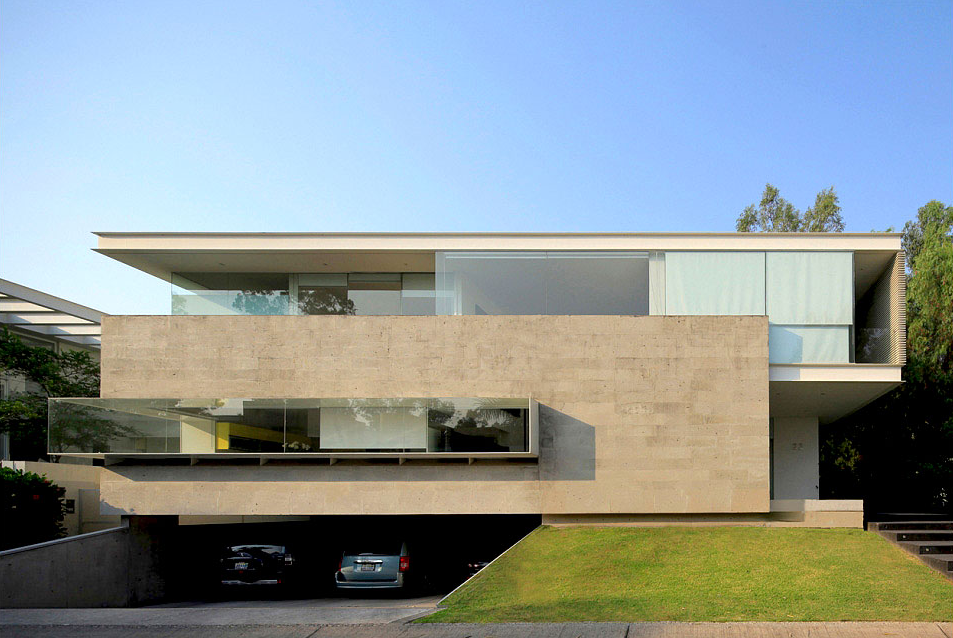 Casas em balan o veja fachadas super contempor neas e - Casas super pequenas ...