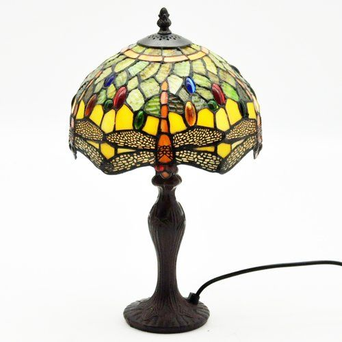 Cawthon 40cm Table Lamp Marlow Home Co Shade Colour Green