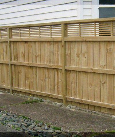 Timber Fences Easyfences Co Nz Backyard Fences Fence Design