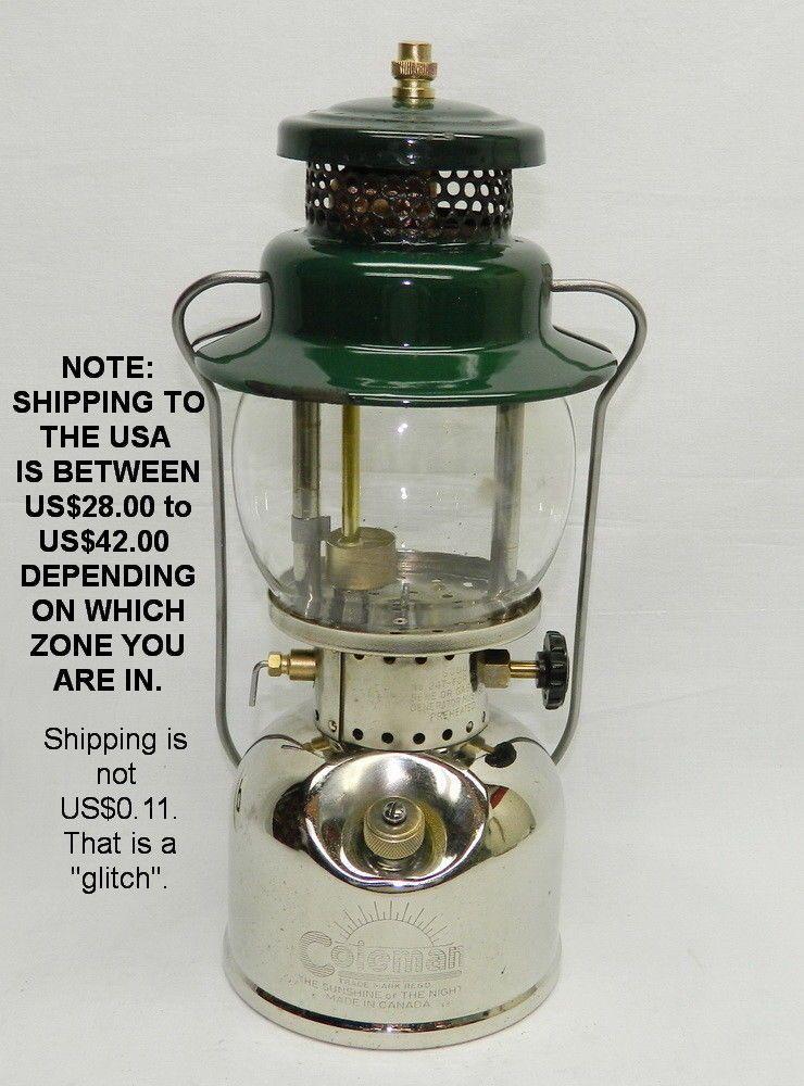 coleman tk generator pin lamp scout kero lantern gas