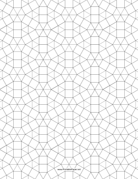 This Small Tessellation Includes Triangles And Squares Free To