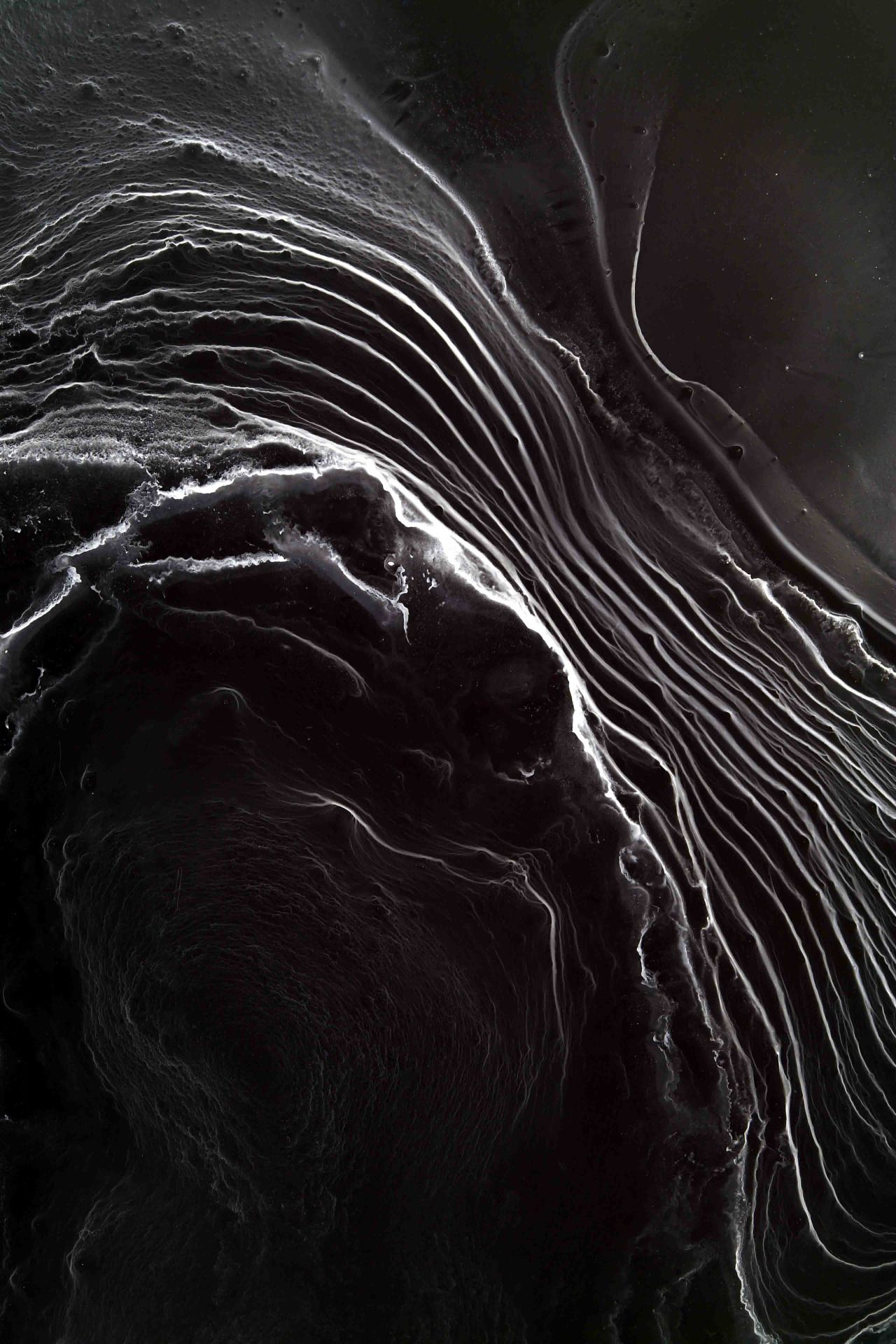 Black fluid texture pattern fluidistic textures wave