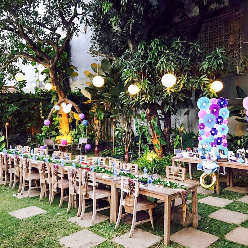 15 Romantic Garden Restaurants In Jakarta With Affordable Outdoor Fine Dining For Your Special Date Garden Cafe Romantic Garden Garden