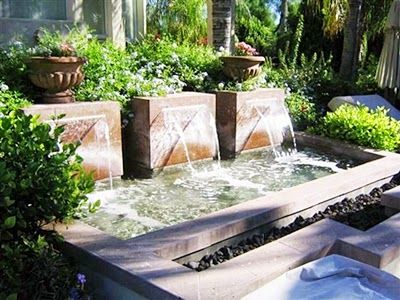 Private Water Fountain Designs at Home | TENKA