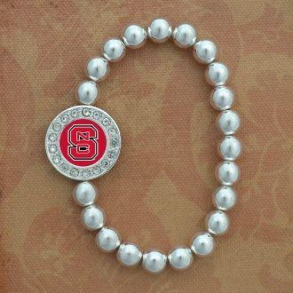 Abby Girl™ North Carolina State Wolf Pack Stretch Bracelet