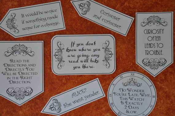 Alice In Wonderland Mad Hatter Tea Party Quotes And Sayings Pdf