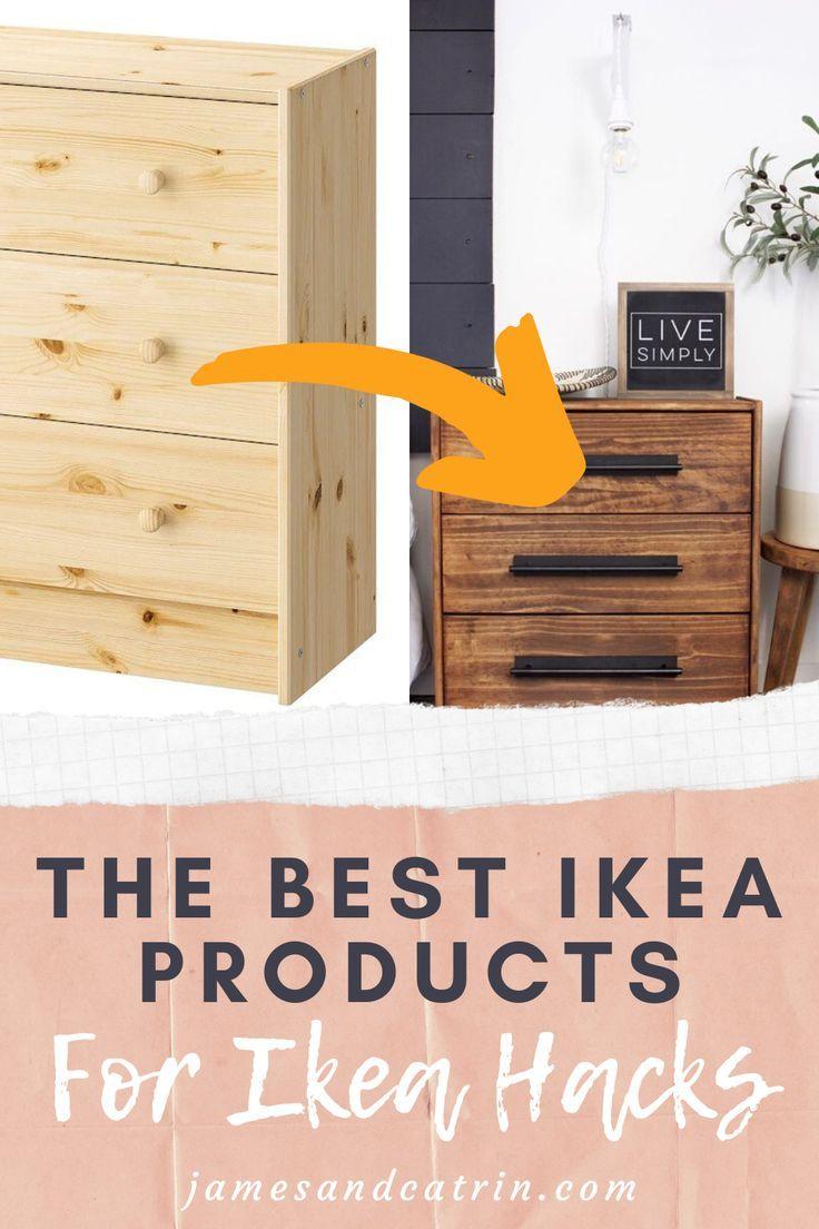 The Best Ikea Products For Ikea Hacks Ikea Mobilier De Salon Et Produits Ikea