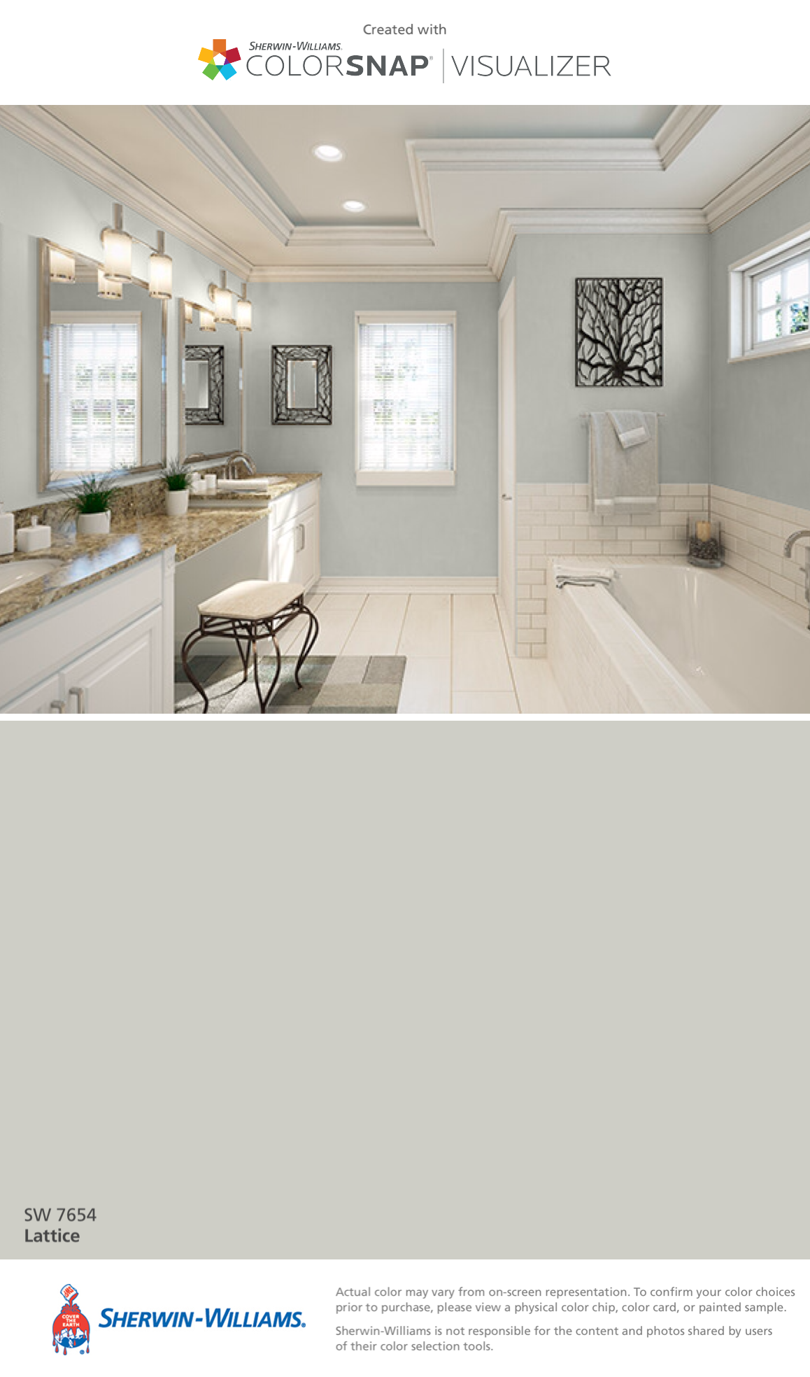 Sherwin williams perfect greige ideas pictures remodel - I Found This Color With Colorsnap Visualizer For Iphone By Sherwin Williams Lattice