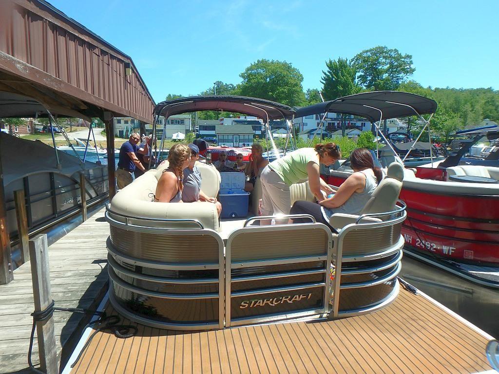Pontoon fun boat rental pontoon boat slip