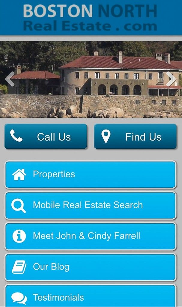 Real Estate For Sale On The North Shore Of Boston Mobile
