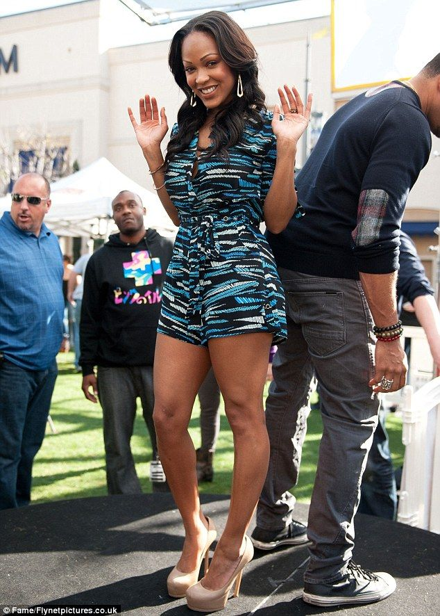 Meagan Good | Style | Pinterest | Legs, Playsuits and Articles