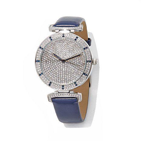 "Designer Watch Collection ""Pavé Galore"" Watch"