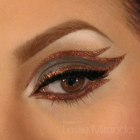 Copper Eyeliner Desing https://www.makeupbee.com/look.php?look_id=93097
