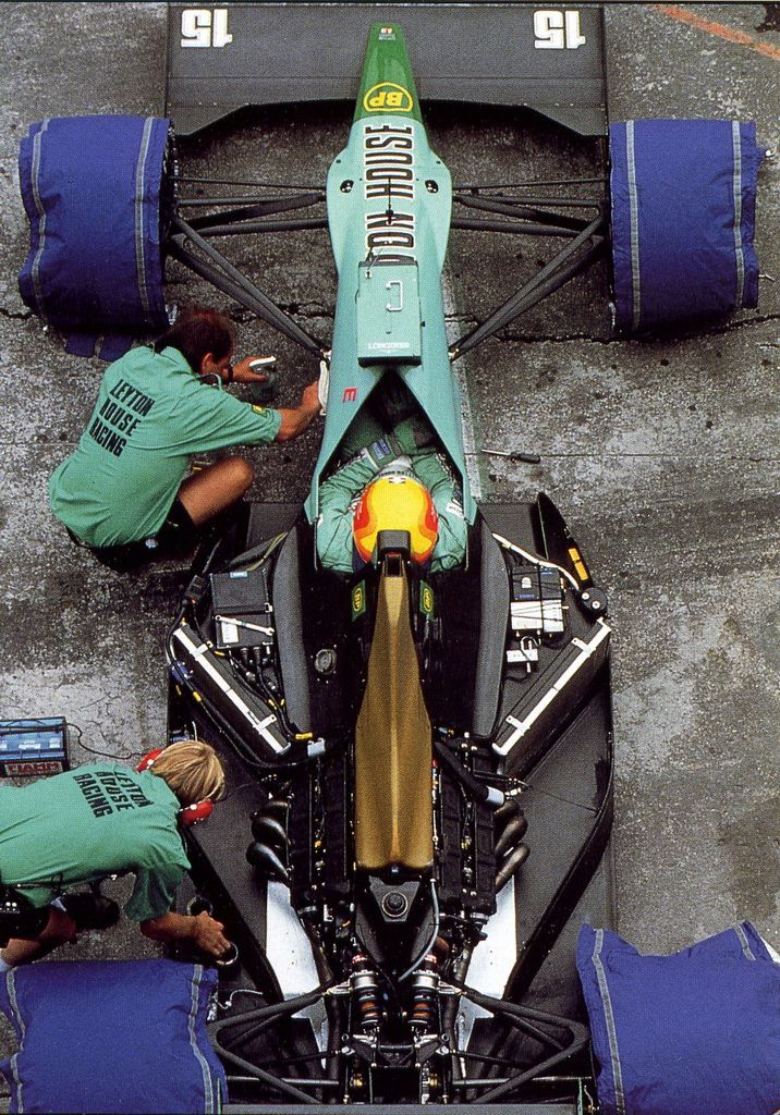 Maurício Gugelmin (BRA) (Leyton House Racing), March CG901