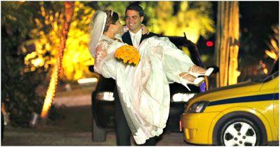 O casamento da atriz Bárbara Borges