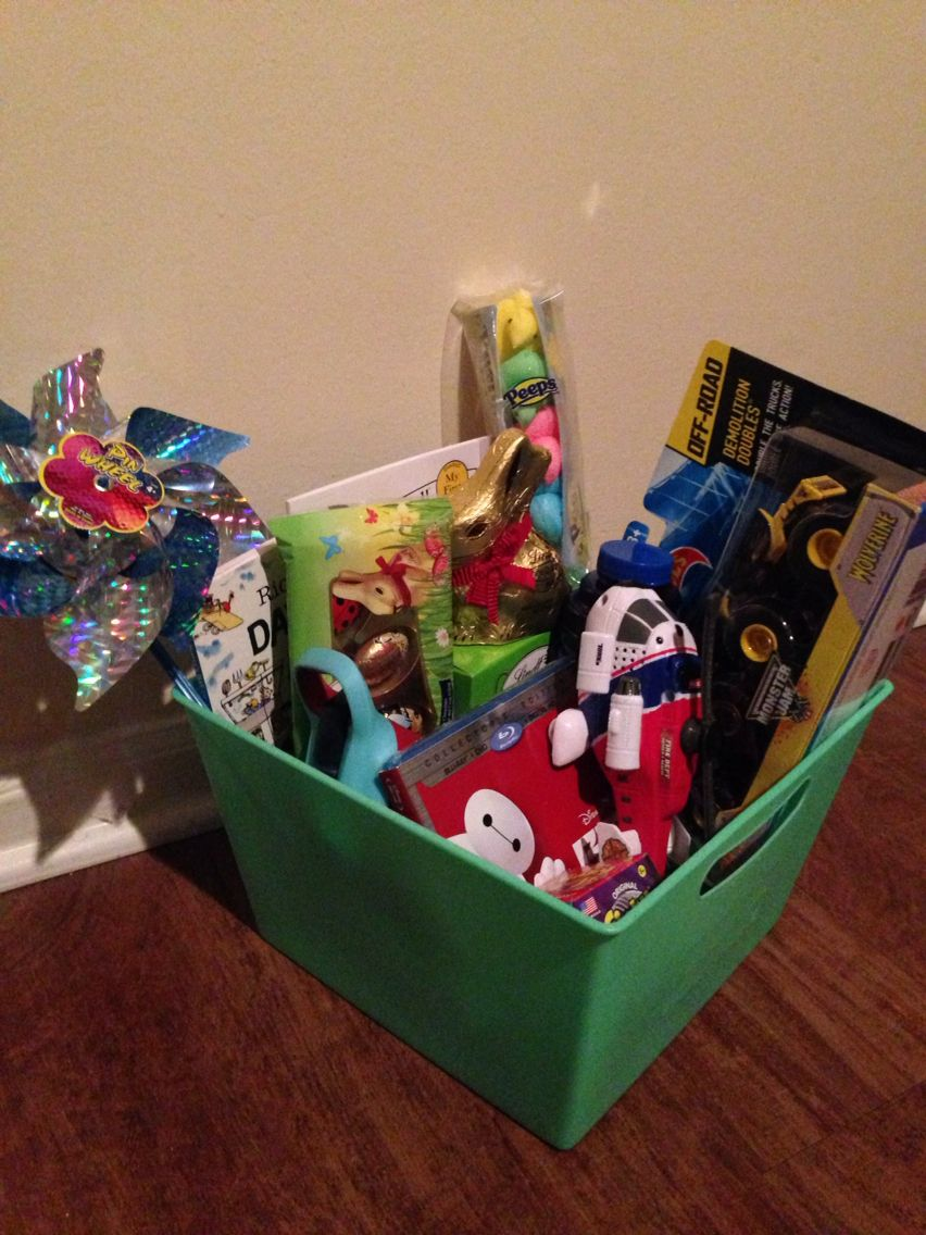 Easter Basket For 3 Year Old Boy My Creations Pinterest Easter Baskets