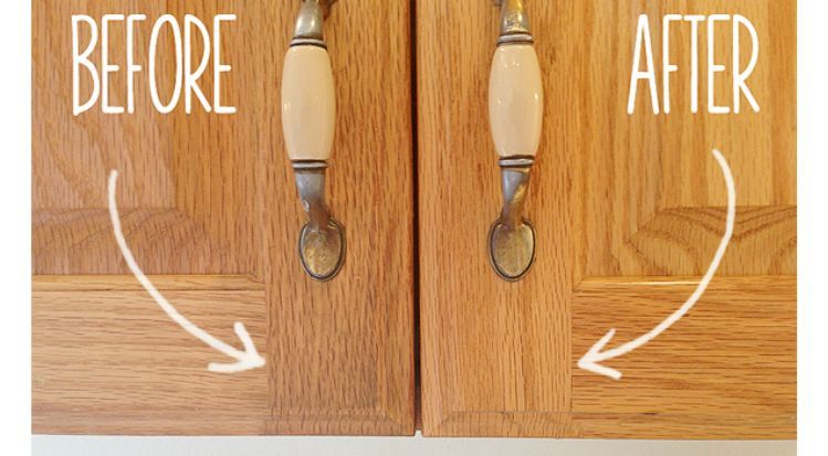 Charmant Secret To Cleaning Gunky Kitchen Cabinets